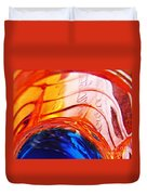 Oil And Water 26 Duvet Cover by Sarah Loft