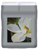 Oil Painting - Sydney's Magnolia Duvet Cover