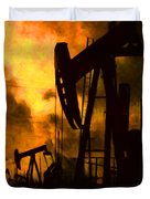 Oil Pumps Duvet Cover