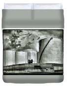Oil Storage Tanks 1 Duvet Cover