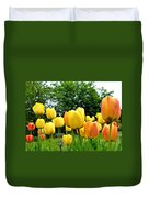 Okanagan Valley Tulips Duvet Cover