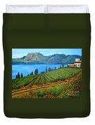 Okanagan Vineyard Duvet Cover