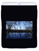 Okefenokee Reflection Duvet Cover