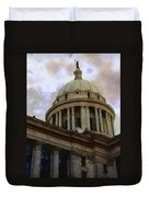Oklahoma Capital Duvet Cover
