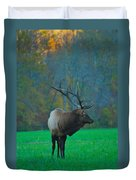 Okonoluftee Elk Duvet Cover
