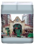 Old 72nd Street Station - New York City Duvet Cover