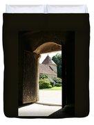 Old Abbey Church Door - Abbey Fontenay Duvet Cover