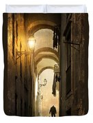 Old Alley Duvet Cover by Carlos Caetano