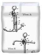 Old Anchor Patent Duvet Cover