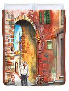 Old And Lonely In Italy 04 Duvet Cover