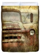 Old And Rusted Duvet Cover