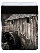 Old Appalachian Mill Duvet Cover