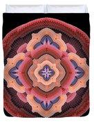 Old Apple Mandala Duvet Cover