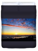 Old A's Panorama Duvet Cover