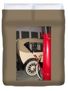 Old Automobile Duvet Cover