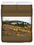 Old Baldy In Fall Duvet Cover