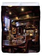 Old Bar In Charleston Sc Duvet Cover