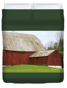 Old Barn Duvet Cover by Kathy DesJardins