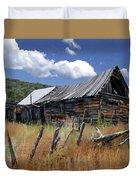 Old Barn Las Trampas New Mexico Duvet Cover