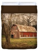 Old Barn Near Rhineland Mo Dsc09267 Duvet Cover