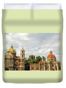 Old Basilica Of Guadalupe Duvet Cover