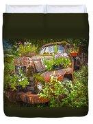 Old Truck Betsy Duvet Cover