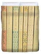 Old Books Duvet Cover