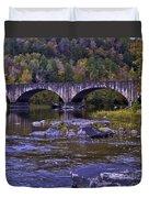 Old Bridge Two Duvet Cover
