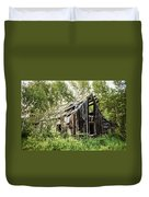 Old Building - Liberty Washington Duvet Cover