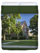 Old Campus Michigan State University Duvet Cover