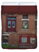 Old Cannery In Belfast Maine Img 6132 Duvet Cover