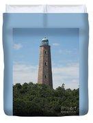 Old Cape Henry Lighthouse Duvet Cover