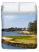 Old Carolina Golf Club Duvet Cover