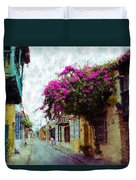 Old Cartagena 2 Duvet Cover
