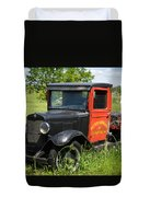 Old Chevrolet Truck Duvet Cover