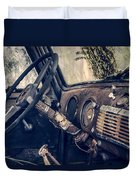 Old Chevy Truck Duvet Cover