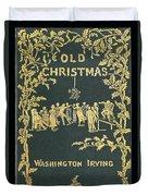 Old Christmas Duvet Cover