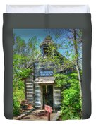 Old Church In The Woods Duvet Cover