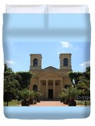 Old Church - Macon - Burgundy Duvet Cover