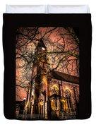 Old Church Duvet Cover
