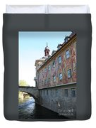Old City Hall - Bamberg - Germany Duvet Cover