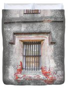 The Old City Jail Window Chs Duvet Cover