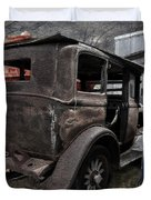 Old Classic Car Duvet Cover