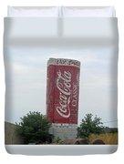 Old Coke Silo Duvet Cover