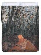 Old Connecticut Path Duvet Cover