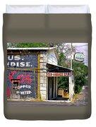 Old Corner Bar - Dayton - Nevada Duvet Cover