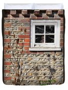 Old Cottage Window Sussex Uk Duvet Cover