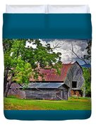 Old Country Barn Duvet Cover
