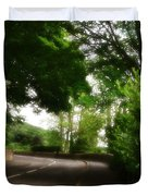 Old Country Road - Peak District - England Duvet Cover