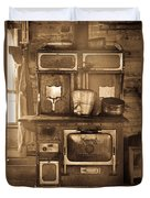 Old Country Stove Duvet Cover